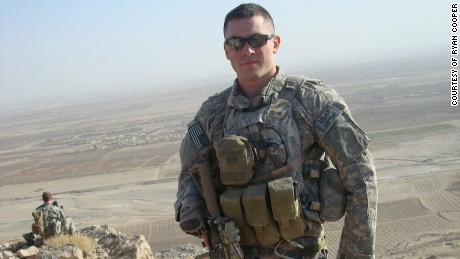 Ryan Cooper in Afghanistan.