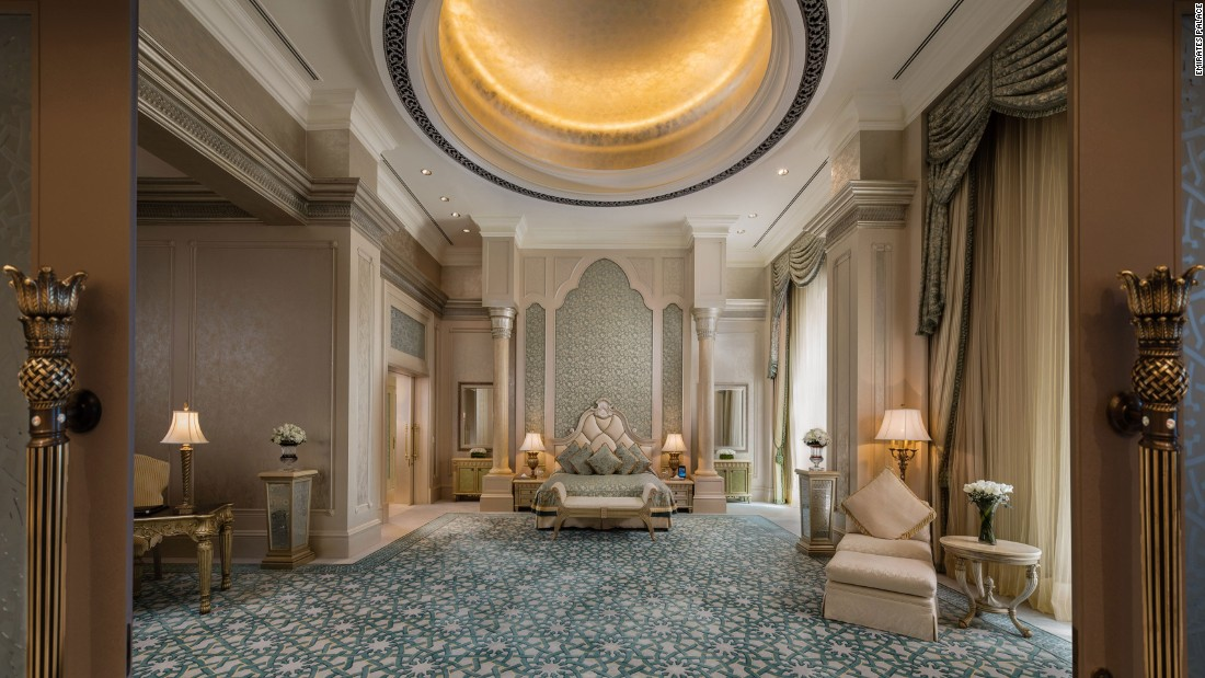 <strong>Gold standard: </strong>Gold is everywhere at the Emirates Palace. It's in the interior arches, in the Moroccan-inspired spa treatments and most certainly in the food.
