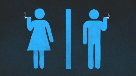 bathroom people marijuana illustration