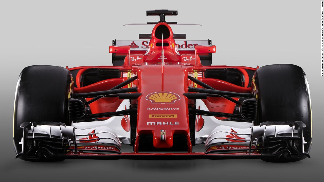 Ferrari unveiled its new SF70-H car on Friday February 24, at its Maranello headquarters in Italy.