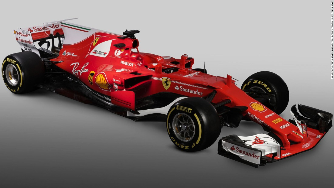 It is the 63rd single-seater designed and built by Ferrari since the F1 world championship began, and team bosses will hope for an improvement on last year's third-place finish.