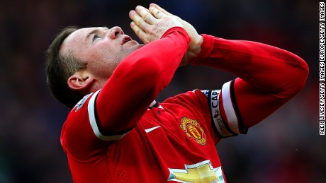Wayne Rooney is Manchester United and England's all-time leading scorer