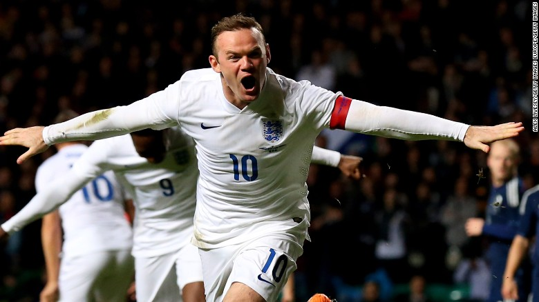 In September 2015, Rooney broke a record that had stood for 45 years as he become England's leading scorer