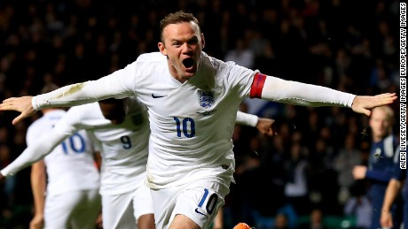 In September 2015, Rooney broke a record that had stood for 45 years as he become England's leading scorer.