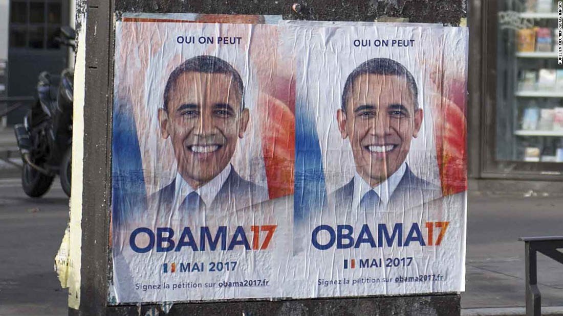 Yes we can ... elect Obama president of France?