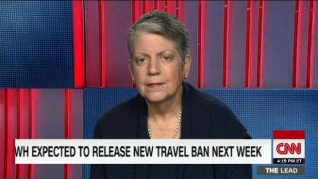 WH May Release New Travel Ban Next Week  Napolitano tapper lead intv_00051616.jpg