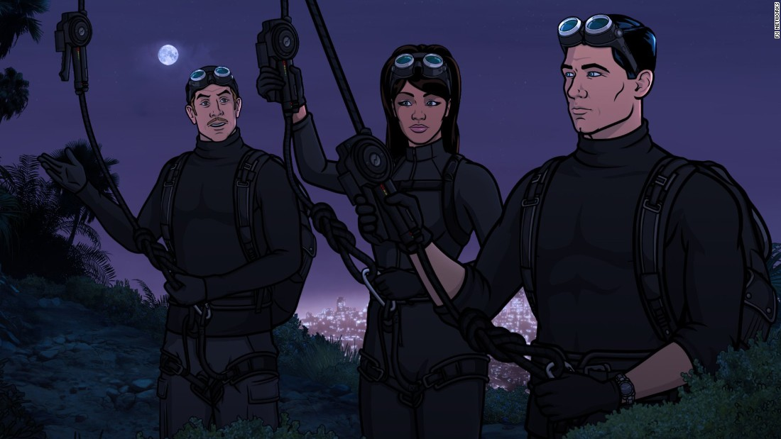"<strong>""Archer"" season 7</strong> : This animated series about a bumbling spy is definitely geared more towards adults. <strong>(Netflix, Hulu) </strong>"