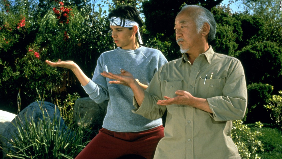 "<strong>""The Karate Kid""</strong> :  Ralph Macchio stars as a martial arts student and Pat Morita as his instructor in this popular drama that started a franchise. <strong>(Hulu) </strong>"