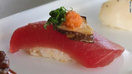 Imoto offers inventive nigiri with a Japanese speakeasy vibe.