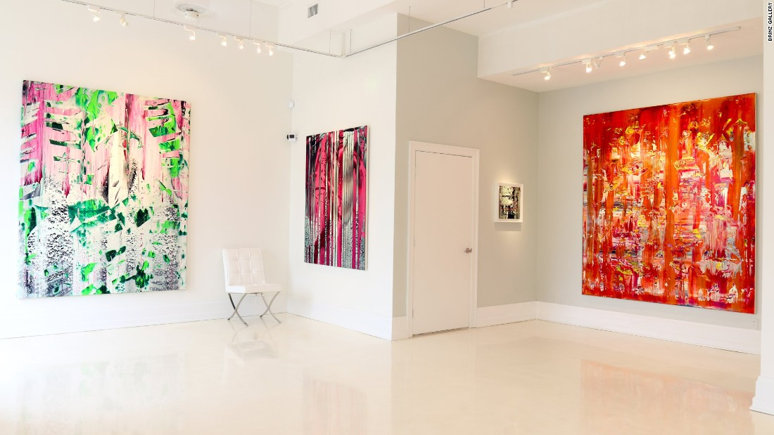 <strong>Brintz Gallery.</strong> Tired of selling old masters, Lisa Brintz opened her eponymous gallery in 2014 to feature contemporary works, including these by Stanley Casselman.