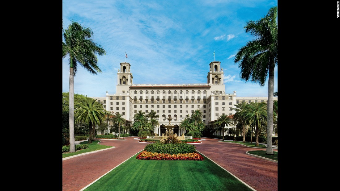 <strong>The Flagler Club. </strong>The Breakers is the grand dame of Palm Beach, but the top two floors are a boutique-like hotel of its own, the recently renovated Flagler Club.