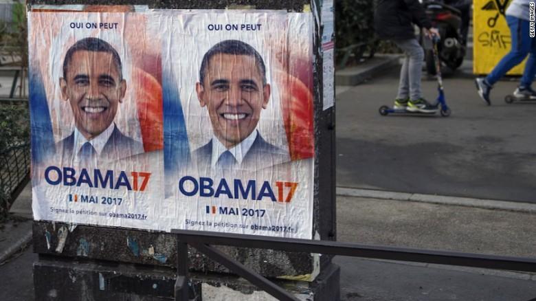 Barack Obama for president of France?