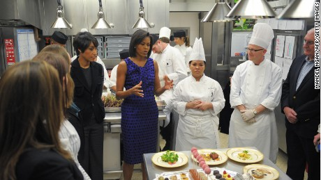Michelle Obama's healthy school lunch program in jeopardy?