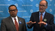 DNC chair says he confuses Trump and Putin
