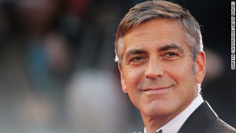 "VENICE, ITALY - SEPTEMBER 08:  Actor George Clooney attends ""The Men Who Stare At Goats"" premiere at the Sala Grande during the 66th Venice Film Festival on September 8, 2009 in Venice, Italy.  (Photo by Gareth Cattermole/Getty Images)"