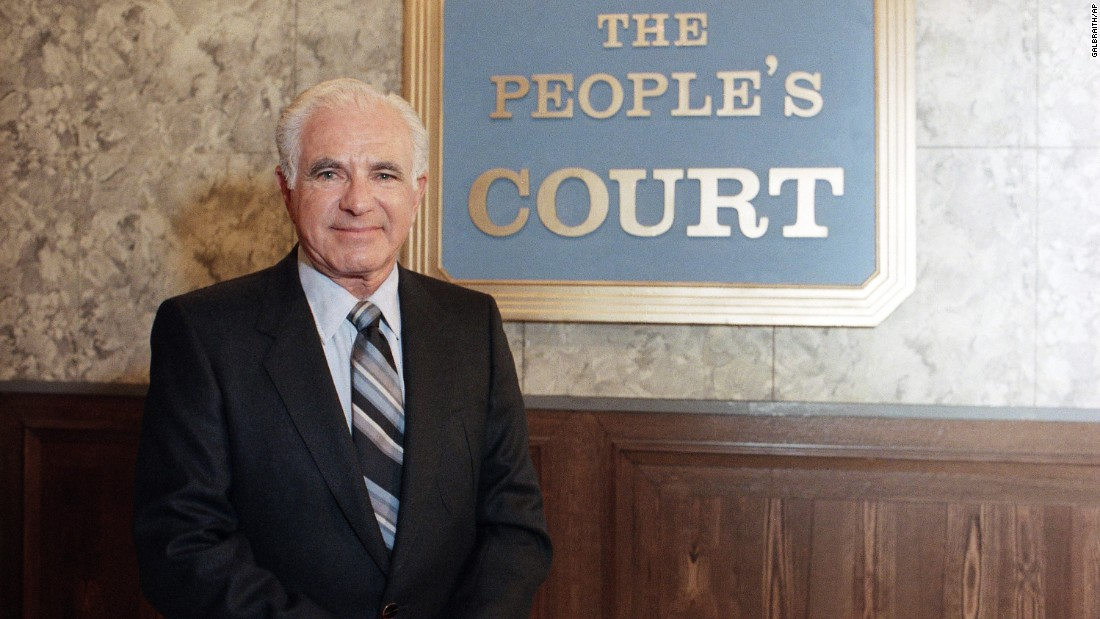 "Judge <a href=""http://www.cnn.com/2017/02/26/us/judge-joseph-wapner-dead/index.html"" target=""_blank"">Joseph Wapner</a>, from the popular reality television program ""The People's Court,"" died February 26, according to his son Judge Fred Wapner. He was 97."
