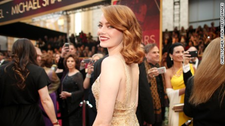 HOLLYWOOD, CA - FEBRUARY 26:  Actor Emma Stone attends the 89th Annual Academy Awards at Hollywood & Highland Center on February 26, 2017 in Hollywood, California.  (Photo by Christopher Polk/Getty Images)