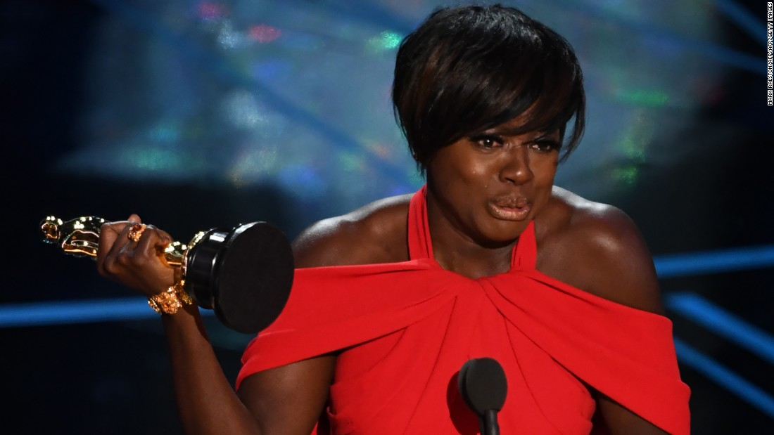 "Viola Davis was also victorious in 2017, winning the award for best supporting actress in ""Fences."""