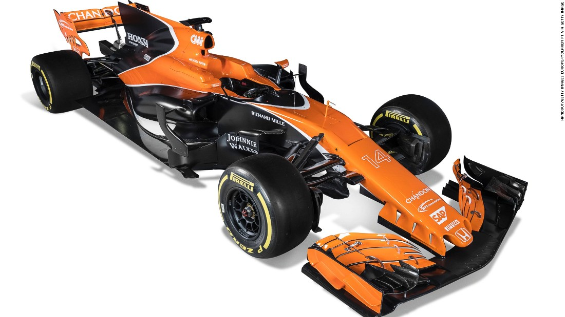 """This year, we have high hopes that McLaren can come back to where it belongs,"" Fernando Alonso said during the car's unveiling at McLaren's Technology Center in Woking, England."