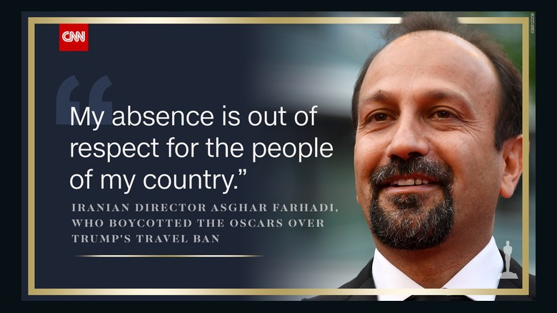 Image result for oscars political farhadi