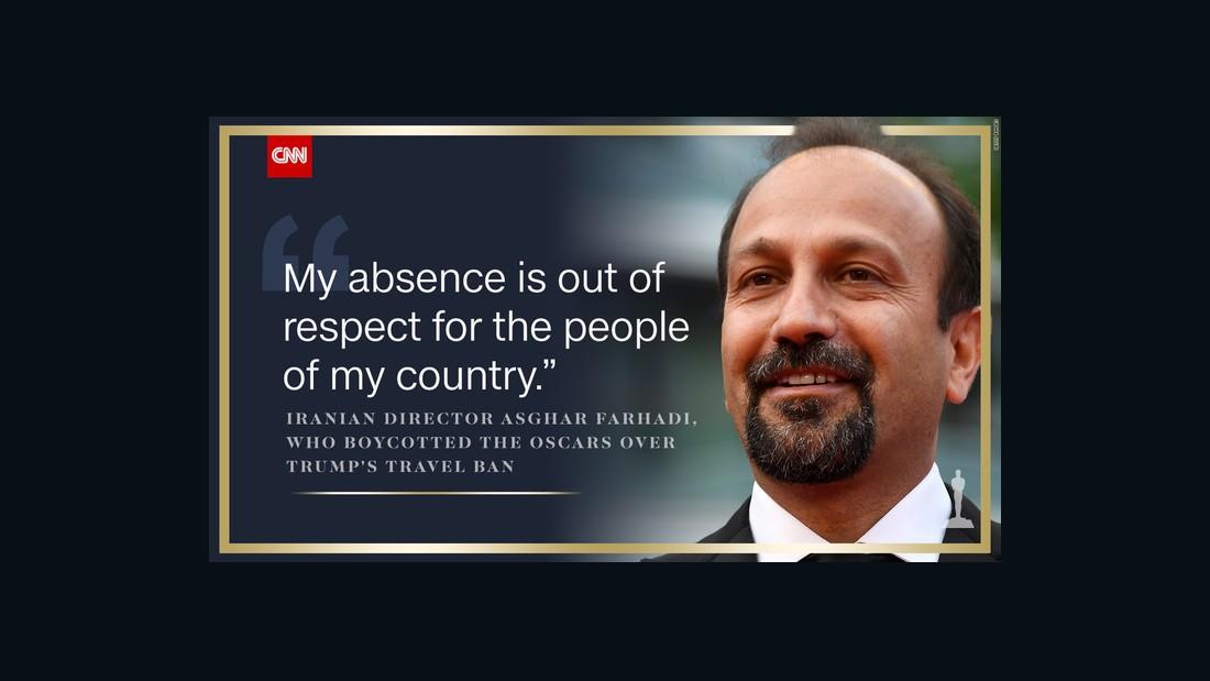 Asghar Farhadi wins Oscar for 'The Salesman'