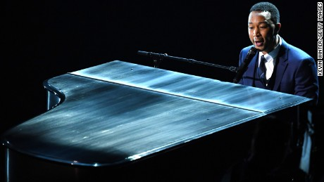 HOLLYWOOD, CA - FEBRUARY 26:  Musician John Legend performs onstage during the 89th Annual Academy Awards at Hollywood & Highland Center on February 26, 2017 in Hollywood, California.  (Photo by Kevin Winter/Getty Images)