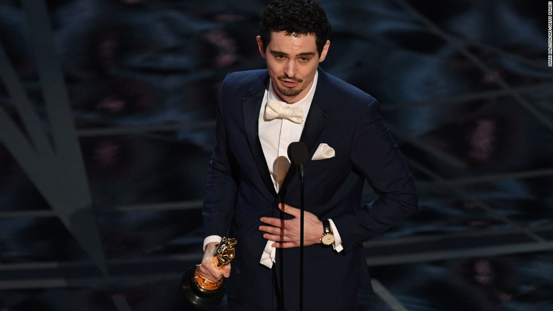 "Damien Chazelle became the youngest person ever to win a best director Oscar. The 32-year-old won for ""La La Land,"" which won six awards on the night."