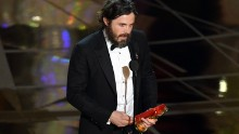 Casey Affleck won best actor for his role in