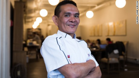 """""""I didn't know anything about the Michelin Guide,"""" says Chan Hon Meng, chef-owner of the world's only Michelin-starred hawker stall."""