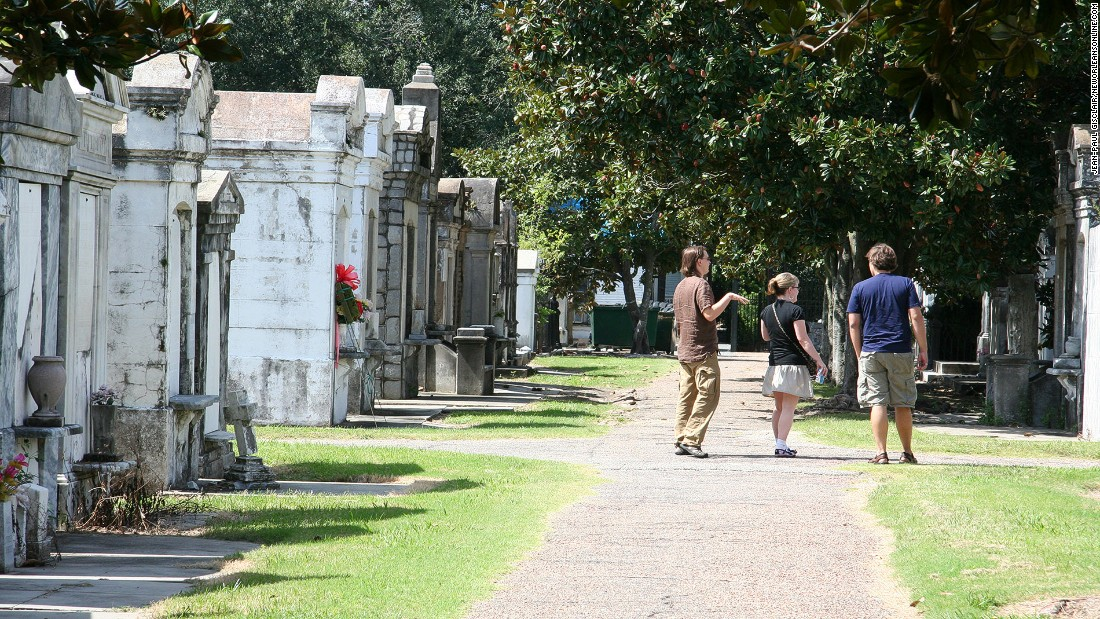 "<strong>Anne Rice's New Orleans (Louisiana): </strong>In Anne Rice's ""The Witching Hour,"" the raised tombs in Lafayette Cemetery No. 1 are home to the Mayfair witches and the vampire Lestat."