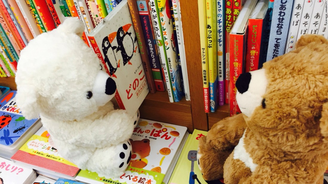 Stuffed animal sleepover programs have been conducted by libraries worldwide. A team of Japanese researchers recently found that the programs may encourage children to read.