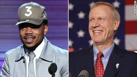 Chance the Rapper meets with governor after Twitter exchange