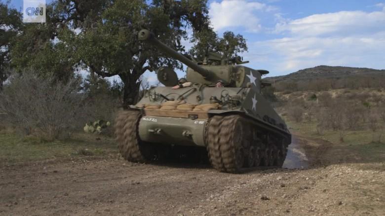 drive WWII era tanks Texas lcrook nccorig_00000229