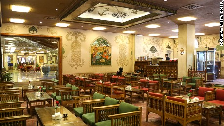 Abbasi Hotel has six restaurants -- including a coffee shop, traditional teahouse and breakfast hall.