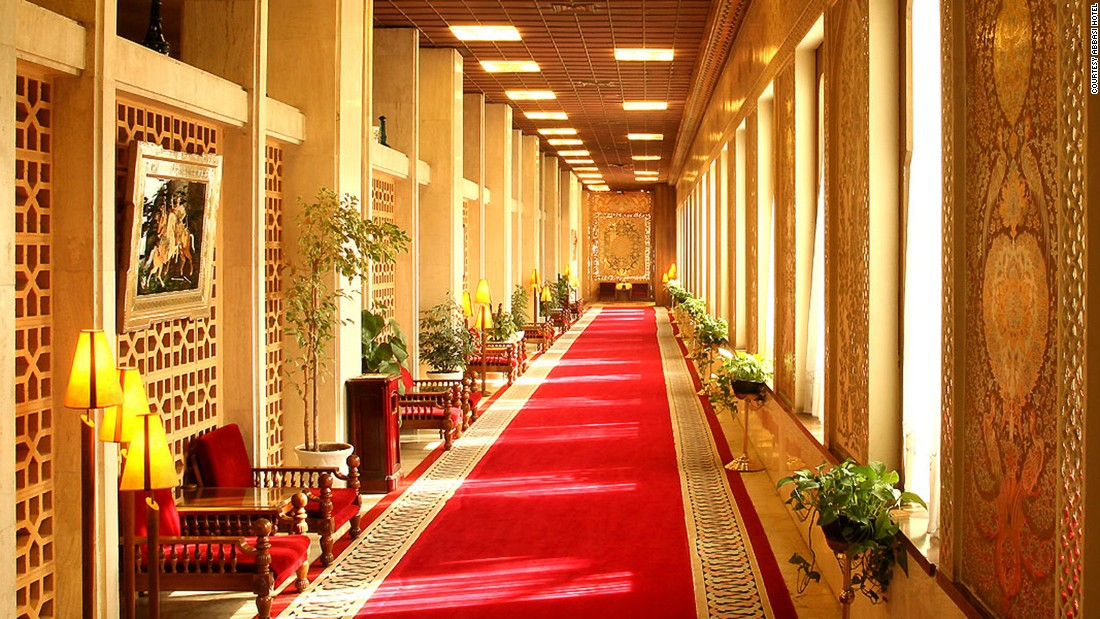 <strong>An attraction in its own right: </strong>Even for non-guests, a visit to the Abbasi Hotel will be a memorable highlight of a trip to Iran.