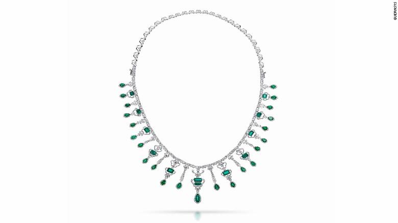 The Conquistadora as a necklace