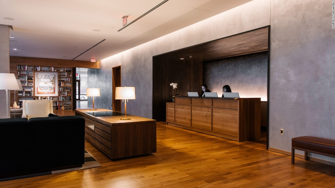 The new hotel, which opened in January, sits on land leased from Drexel University and is within easy reach of the University of Pennsylvania. The Study hotel brand creates relationships with college campuses and customizes spaces to reflect the schools.