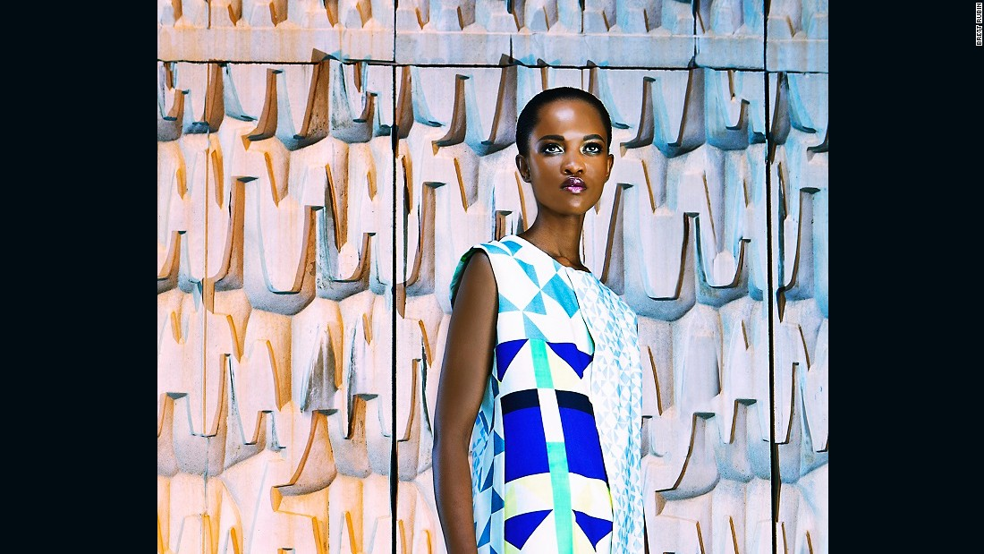 South African fashion designer Sindiso Khumalo has launched her own label focused on sustainable contemporary fabrics.
