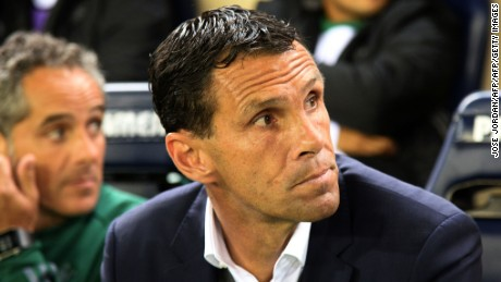 Poyet was appointed by Shenhua just over two weeks after being sacked by Spain's Real Betis.