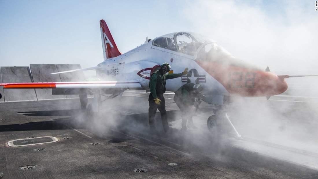 Navy grounds training jets after protests