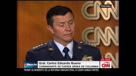 cnne general bueno interview airforce colombia_00001125