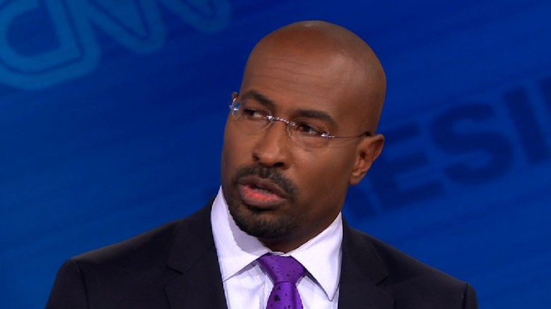 Trump 'Became President of the United States Tonight — CNN's Van Jones