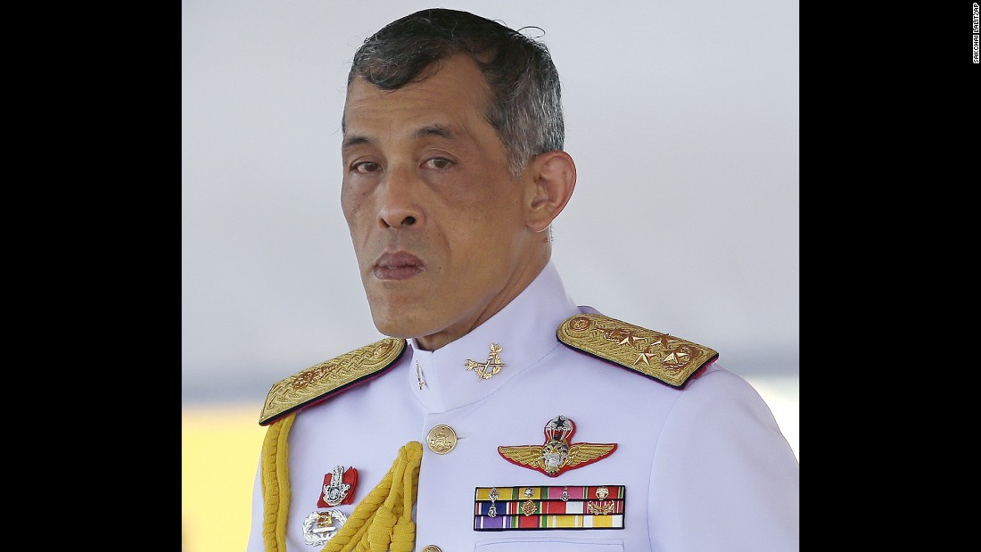 "<a href=""http://www.cnn.com/2016/12/01/asia/thailand-king-rama-x-vajiralongkorn/"">King Maha Vajiralongkorn Bodindradebayavarangkun</a> assumed the throne in Thailand in December 2016, nearly two months after the death of his father, <a href=""http://www.cnn.com/2016/10/13/asia/thai-king-bhumibol-adulyadej-dies/"">King Bhumibol Adulyadej</a>."