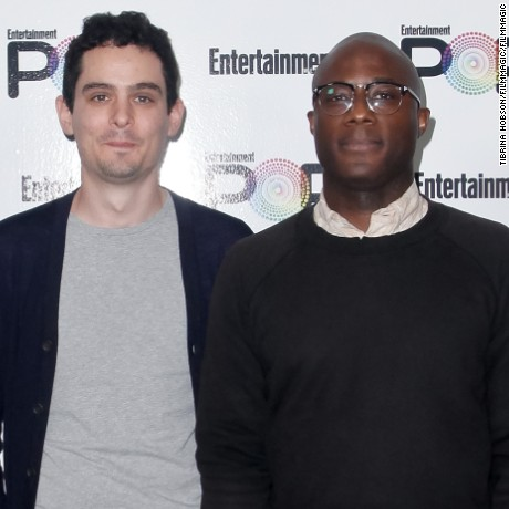 Directors Damien Chazelle and Barry Jenkins