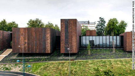 The Soulages Museum in Rodez, France