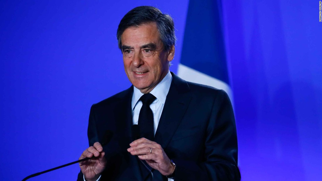 Embattled François Fillon Vows To Remain In Presidential Race