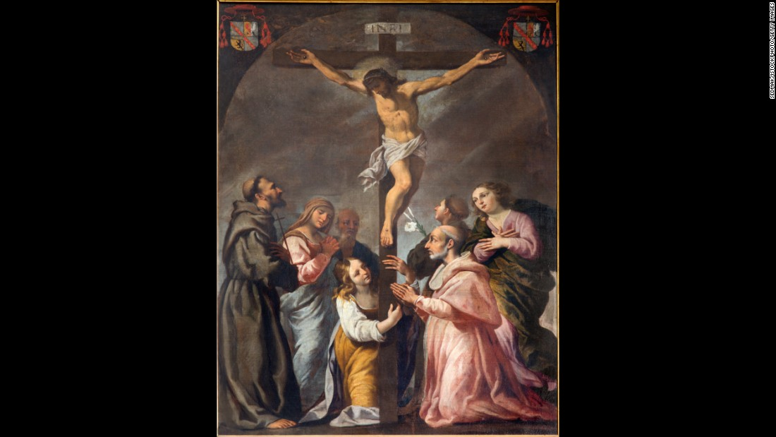 "Over the years, countless <a href=""http://www.cnn.com/2015/03/23/living/jesus-true-cross/"">supposed fragments of the cross on which Jesus was crucified </a>have turned up. Historians say the spread of these relics can be traced to Saint Helena, the mother of Emperor Constantine, the first Roman emperor to convert to Christianity. Helena traveled to Jerusalem and while there, excavators working for her discovered three crosses buried beneath a temple. It's claimed that, through a miraculous revelation, Helena was able to discern which of the crosses was the ""true cross.""  She left one piece of it in Jerusalem and took the rest to Europe."