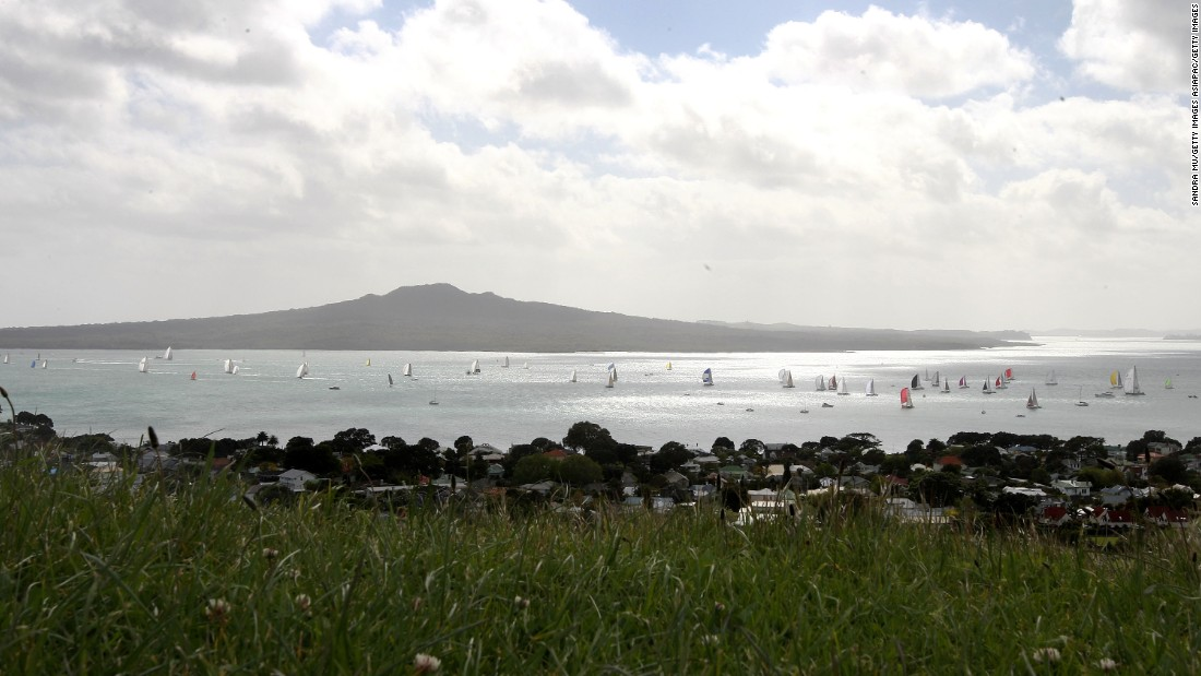 "<strong>Rangitoto:</strong> Auckland has been dubbed the ""city of sails"" because of the many yachts that dot its harbors. The Coastal Classic yacht race, held annually on Labour Day weekend, starts in Auckland's Devonport Wharf and finishes off Russell Wharf in the Bay of Islands. <br />"