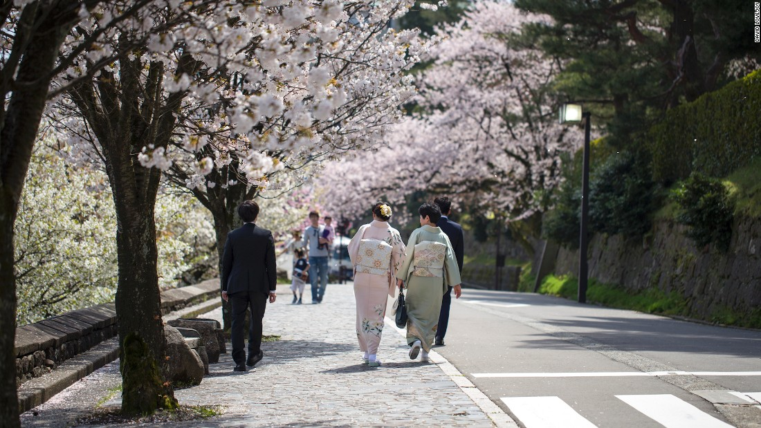 <strong>Kanazawa, Ishikawa:</strong> This beautifully preserved historic city on the coast near the Japanese Alps is famed for its Kenrokuen gardens, considered one of the top three in the country.