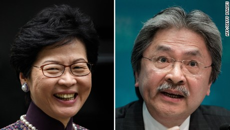 Selecting Hong Kong's next leader
